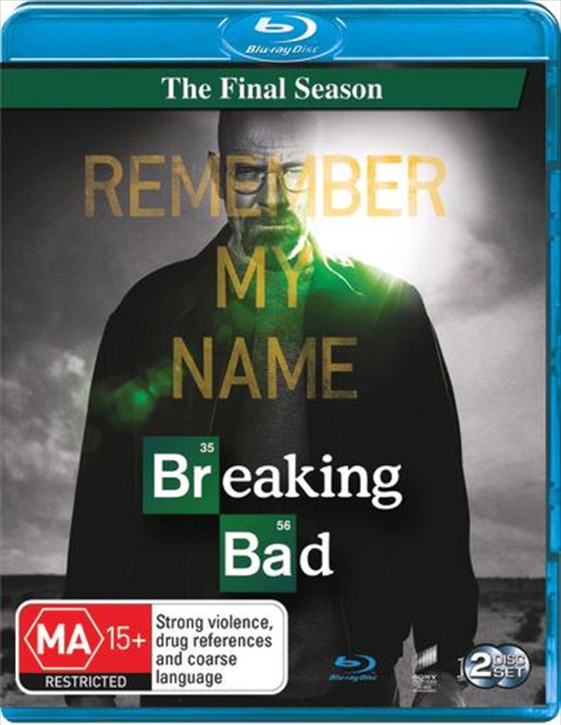 Breaking Bad - Season 6 | Final Season | Blu-ray
