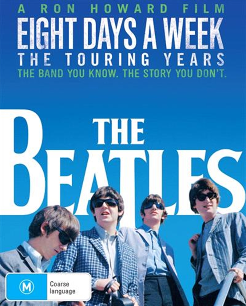 Beatles - Eight Days A Week - The Touring Years, The | DVD