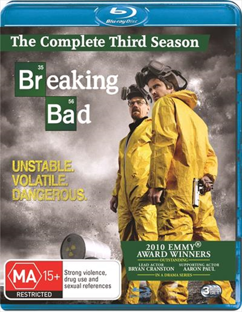 Breaking Bad - Season 03 | Blu-ray