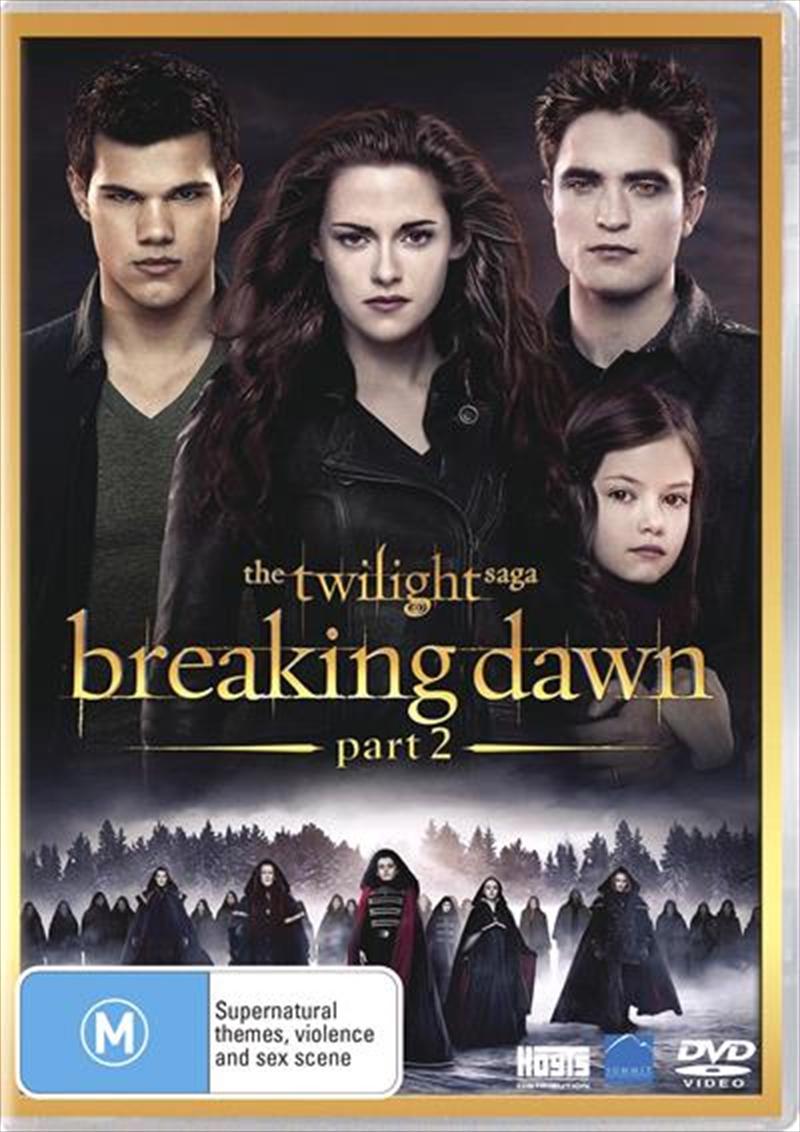 Twilight Saga - Breaking Dawn - Part 2, The | DVD