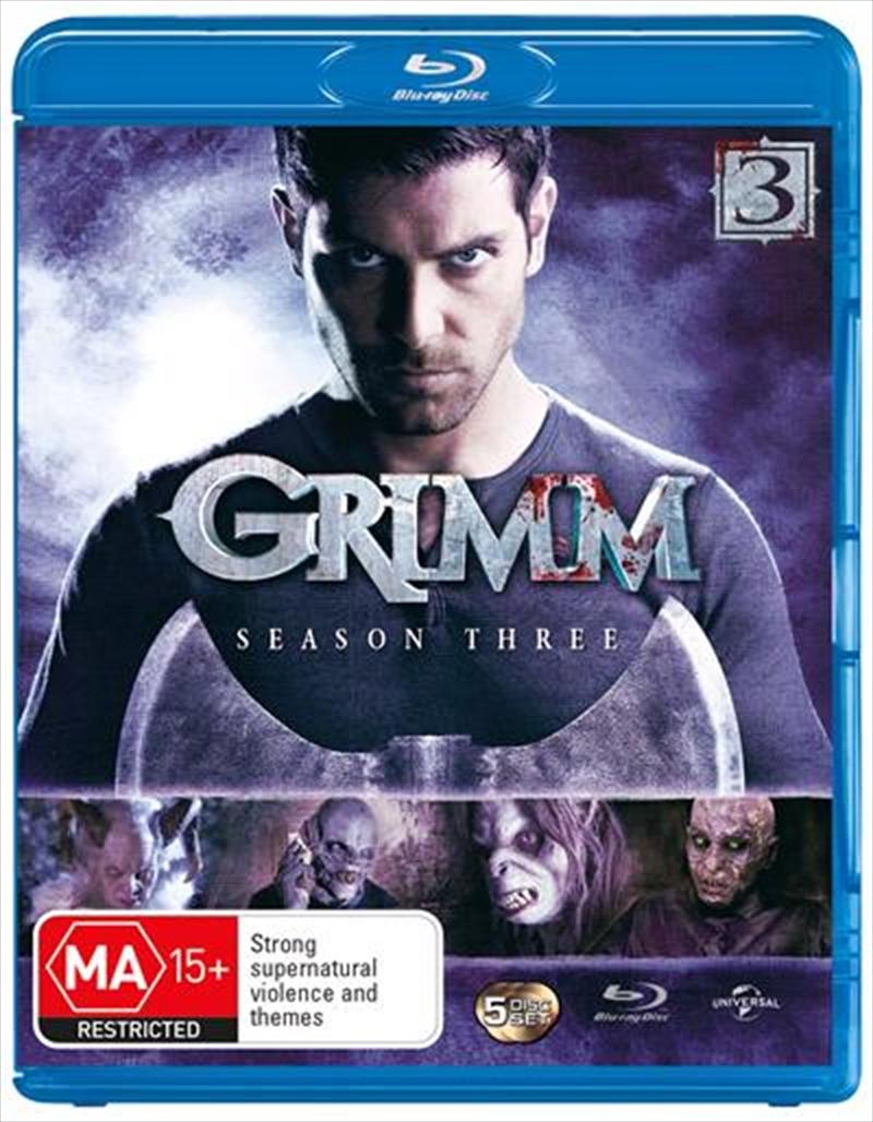 Grimm - Season 3   Blu-ray