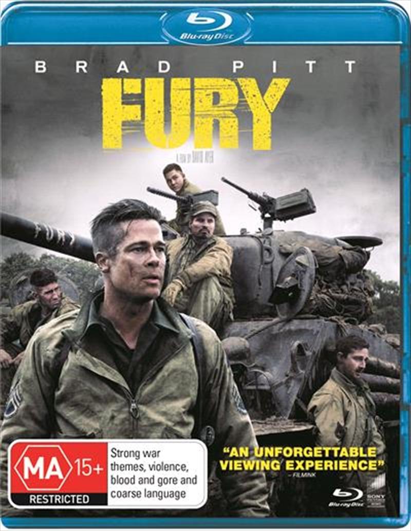 Fury | Blu-ray