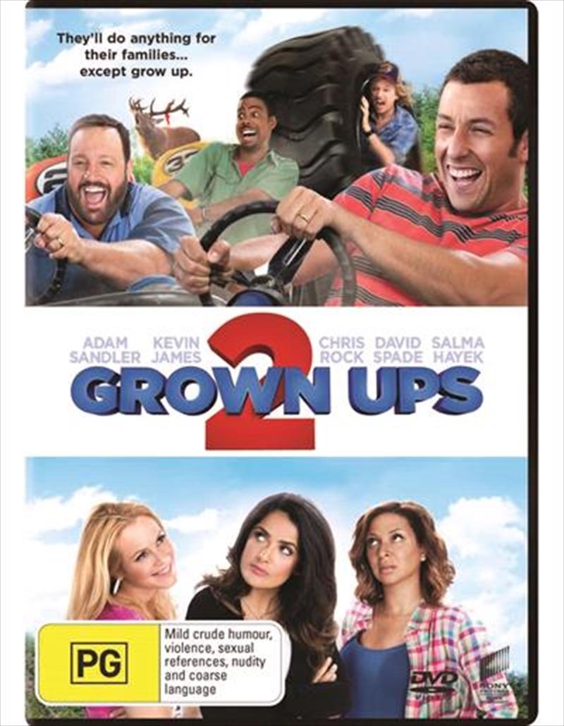 Grown Ups 2 | DVD