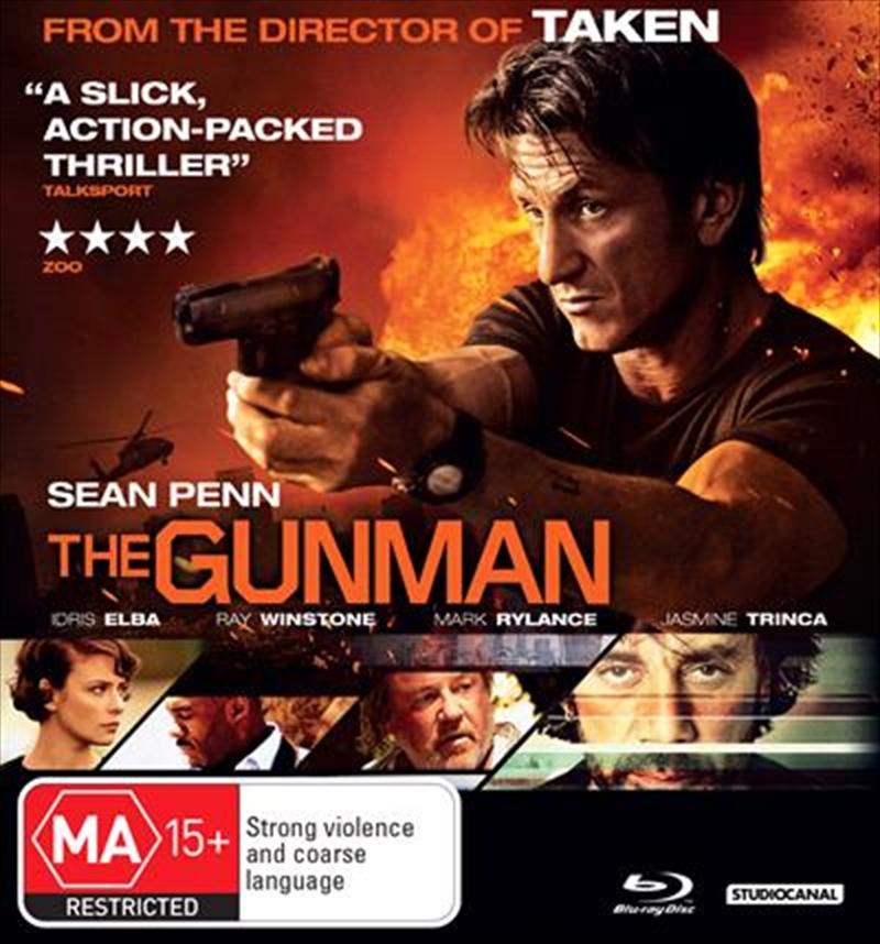 Gunman, The | Blu-ray