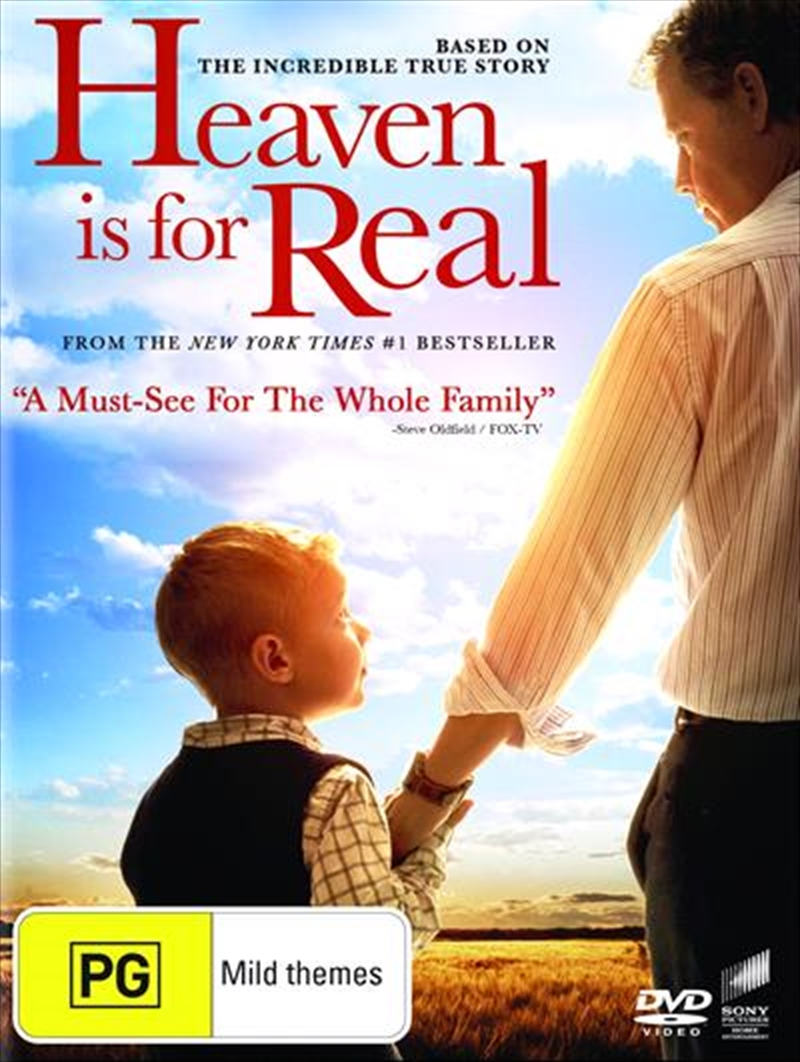 Heaven Is For Real | DVD
