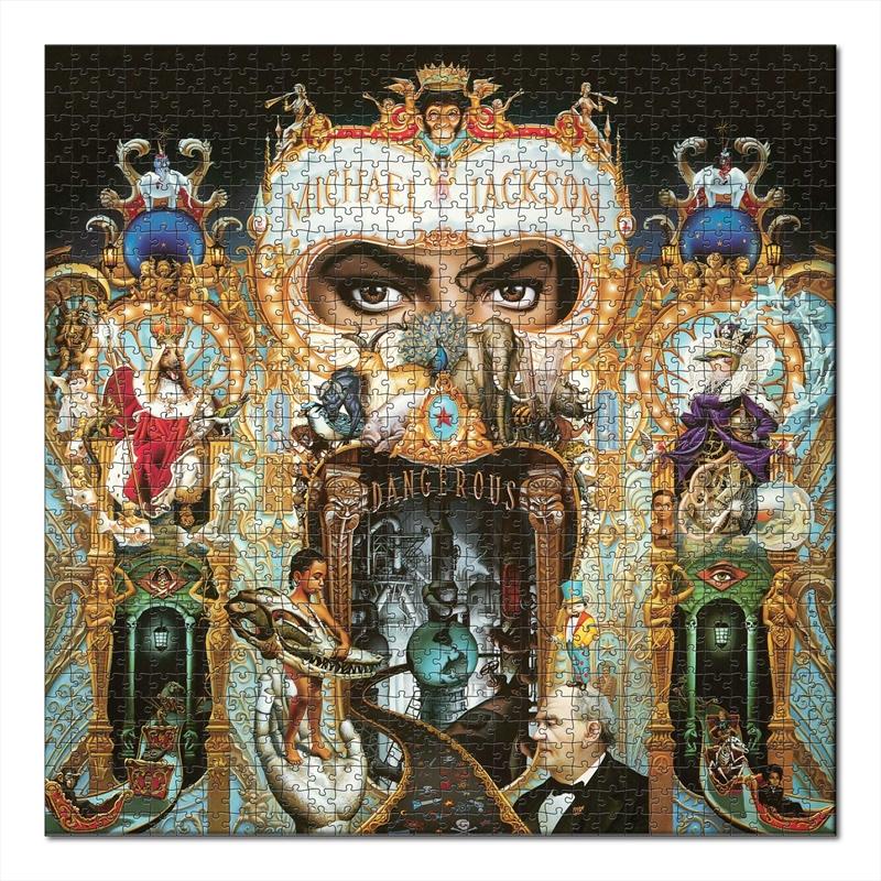 Dangerous - Michael Jackson 1000 Piece Puzzle  (SANITY EXCLUSIVE) | Merchandise