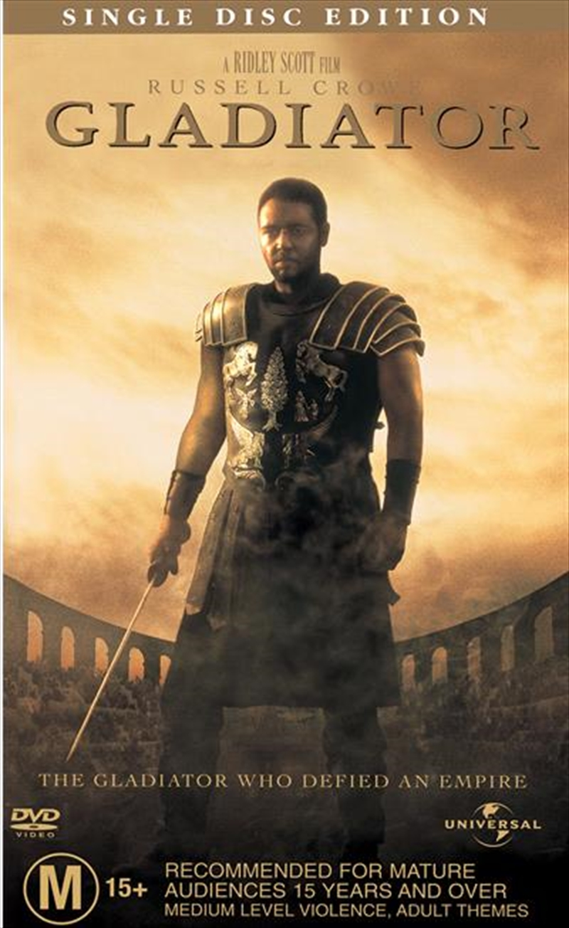 Gladiator - Single Disc Edition | DVD