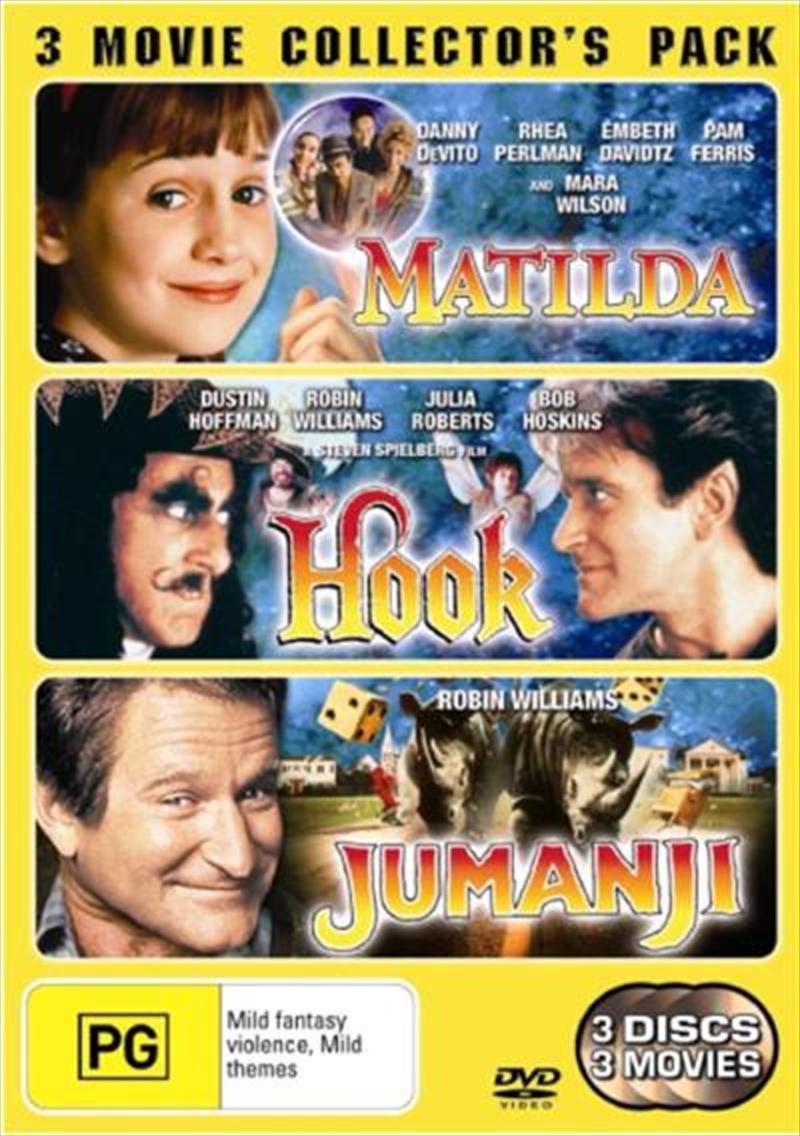 Matilda  / Hook  / Jumanji | DVD
