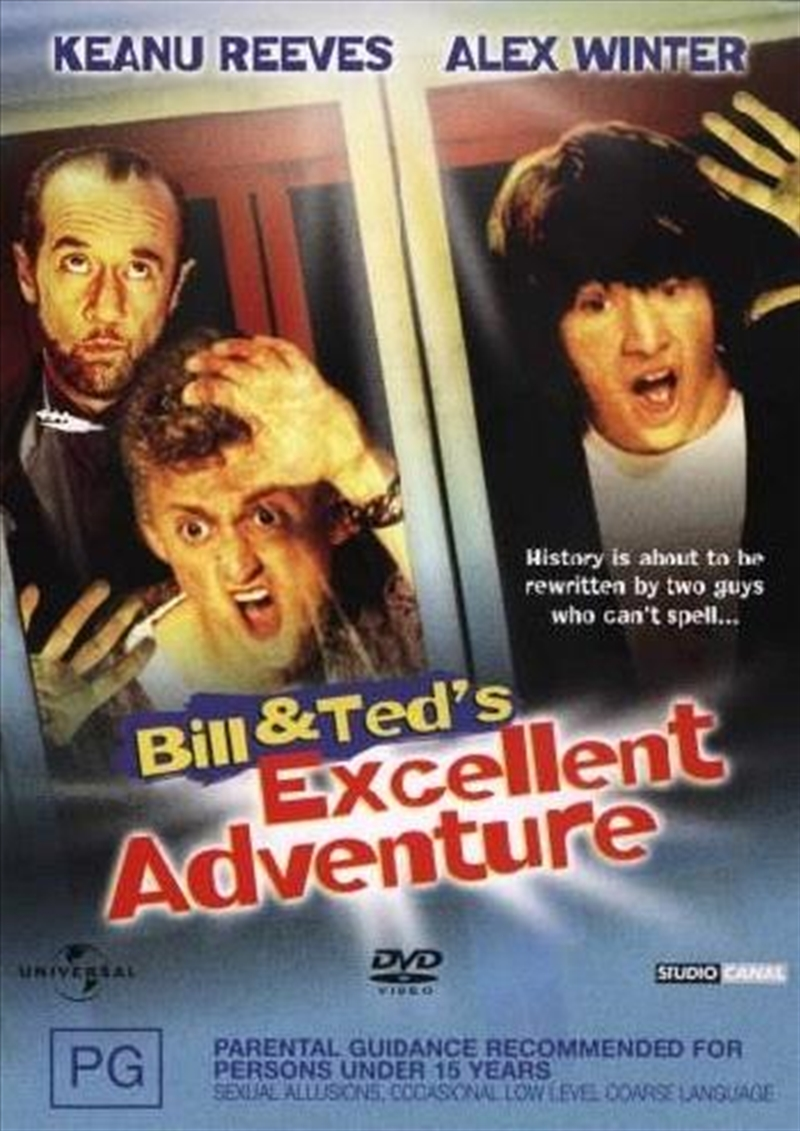 Bill And Ted's Excellent Adventure | DVD
