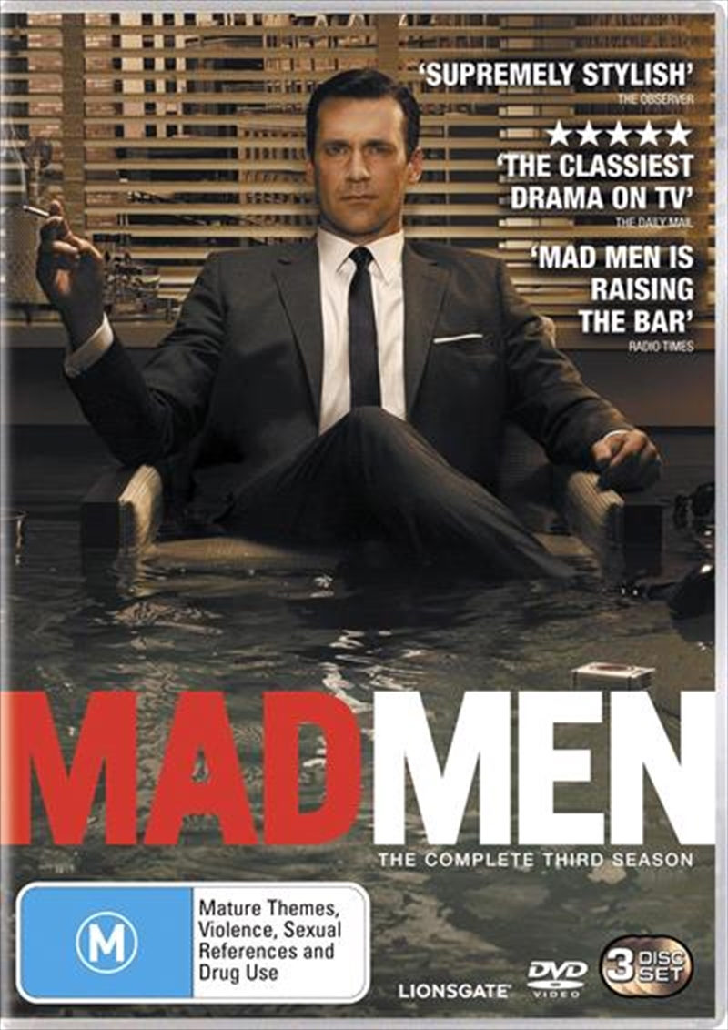 Mad Men- The Complete Third Season | DVD