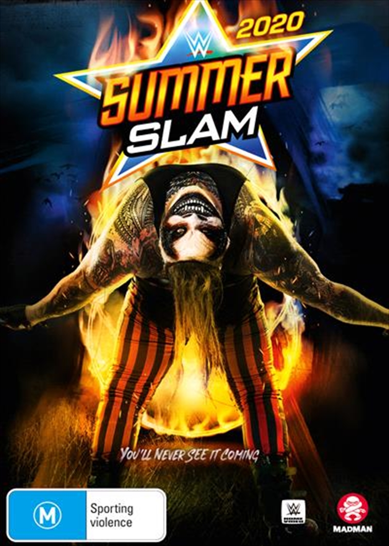 WWE - SummerSlam 2020 | DVD