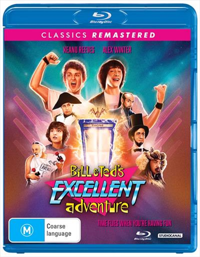 Bill and Ted's Excellent Adventure | Classics Remastered | Blu-ray