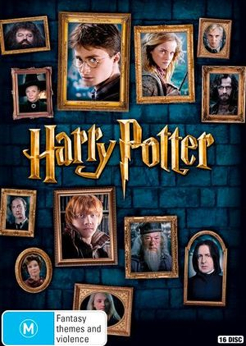 Harry Potter - Limited Edition | Collection - 8 Film | DVD
