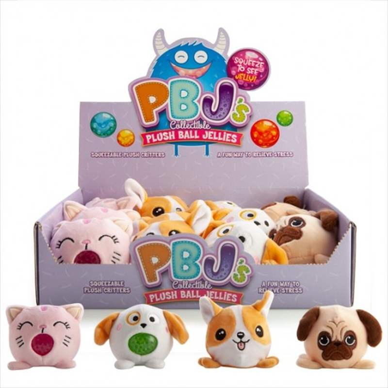Pets Plush Ball Jellies - (SELECTED AT RANDOM) | Toy