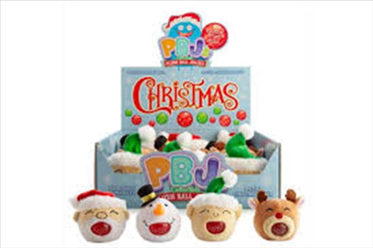 Christmas Plush Ball Jellies - (SELECTED AT RANDOM)   Toy