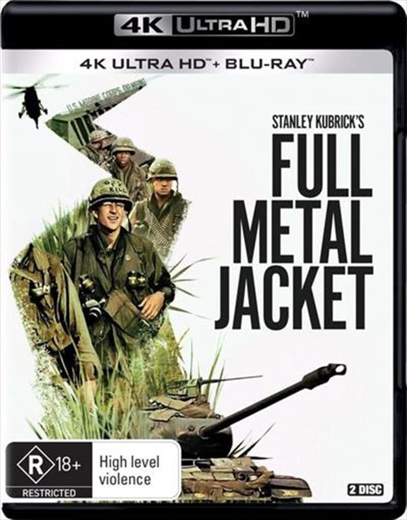 Full Metal Jacket   Blu-ray + UHD   UHD