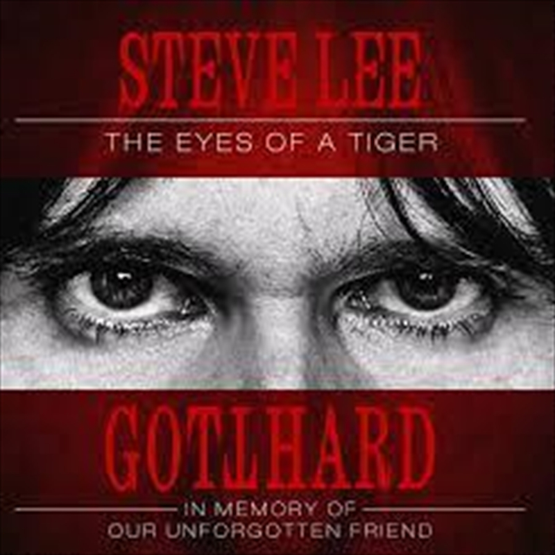 Steve Lee - The Eyes Of A Tiger | CD