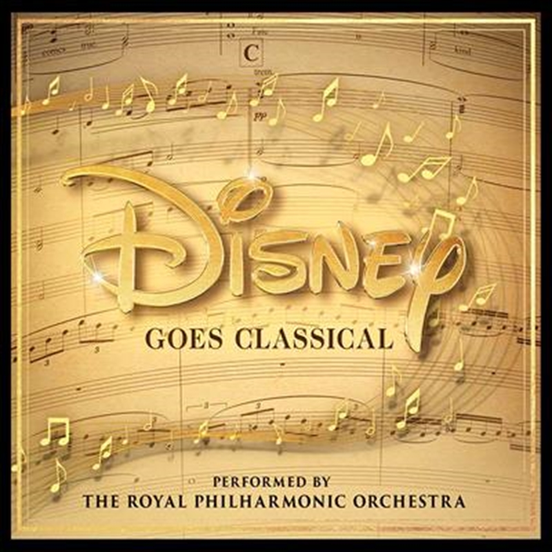 Disney Goes Classical   CD