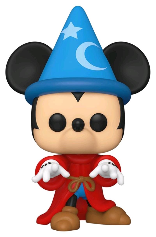 Fantasia - Sorcerer Mickey 80th Anniversary Pop! Vinyl | Pop Vinyl