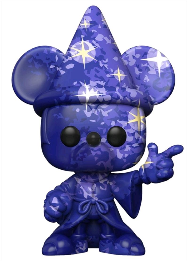 Fantasia - Sorcerer Mickey (Artist) #1 Pop! Vinyl with Protector | Pop Vinyl