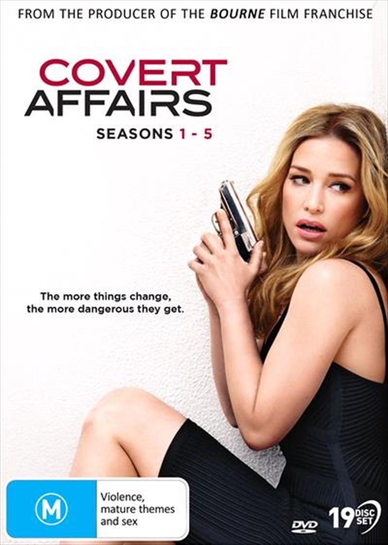 Covert Affairs - Season 1-5   Boxset   DVD