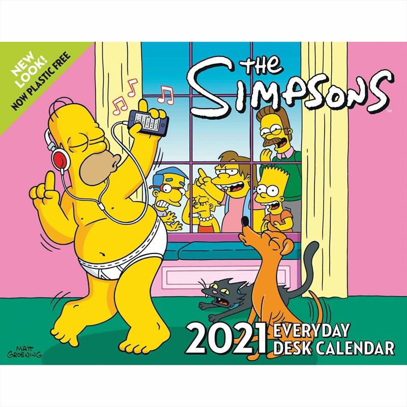 Simpsons 2021 Boxed Calendar | Merchandise
