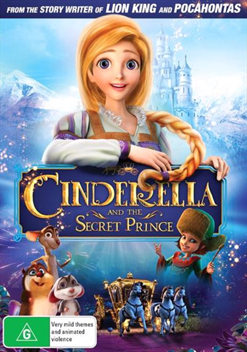 Cinderella And The Secret Prince | DVD