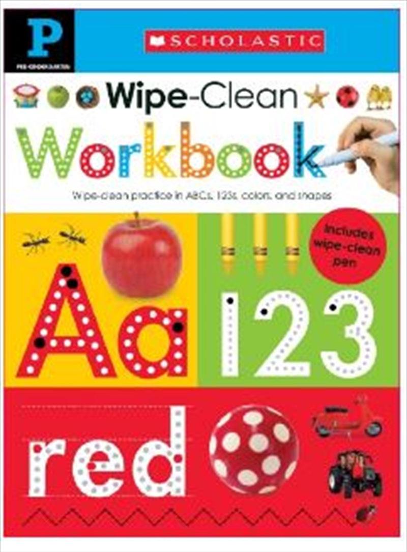 Wipe Clean Workbook Pre Kindergarten | Spiral Bound