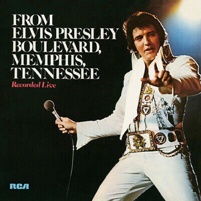 From Elvis Presley Boulevard Memphis Tennessee | CD