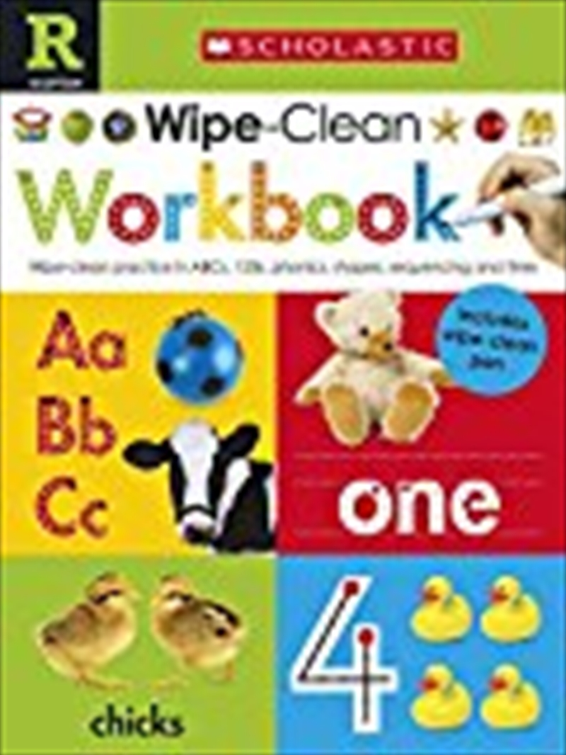 Scholastic Early Learners: Wipe Clean Workbook | Spiral Bound
