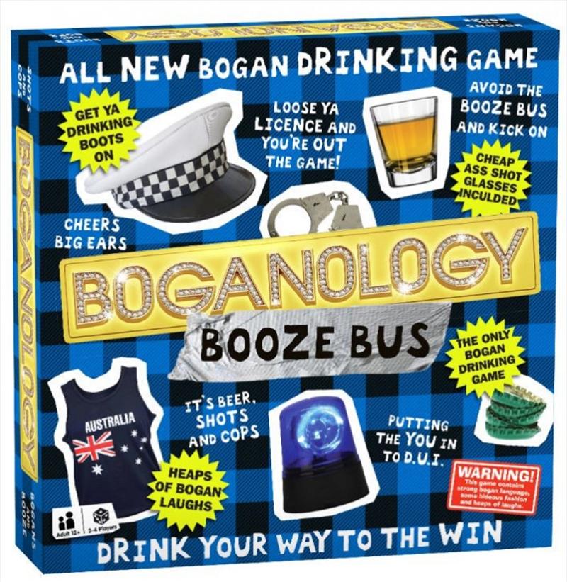 Boganology Booze Bus | Merchandise
