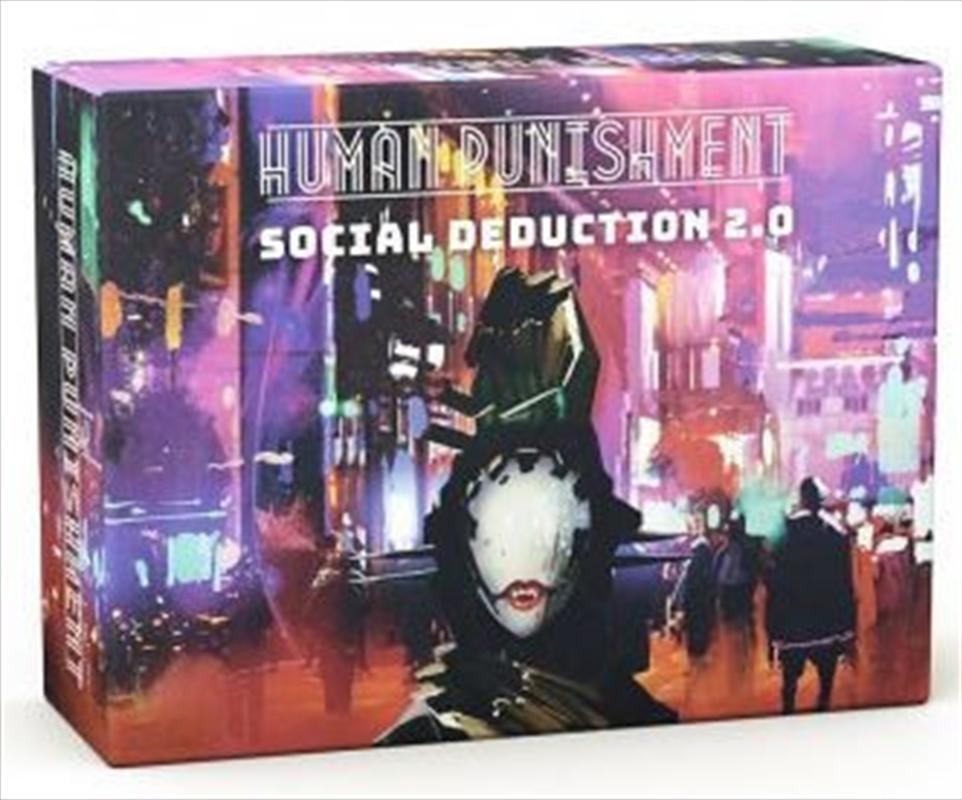 Human Punishment Social Deduction 2.0   Merchandise