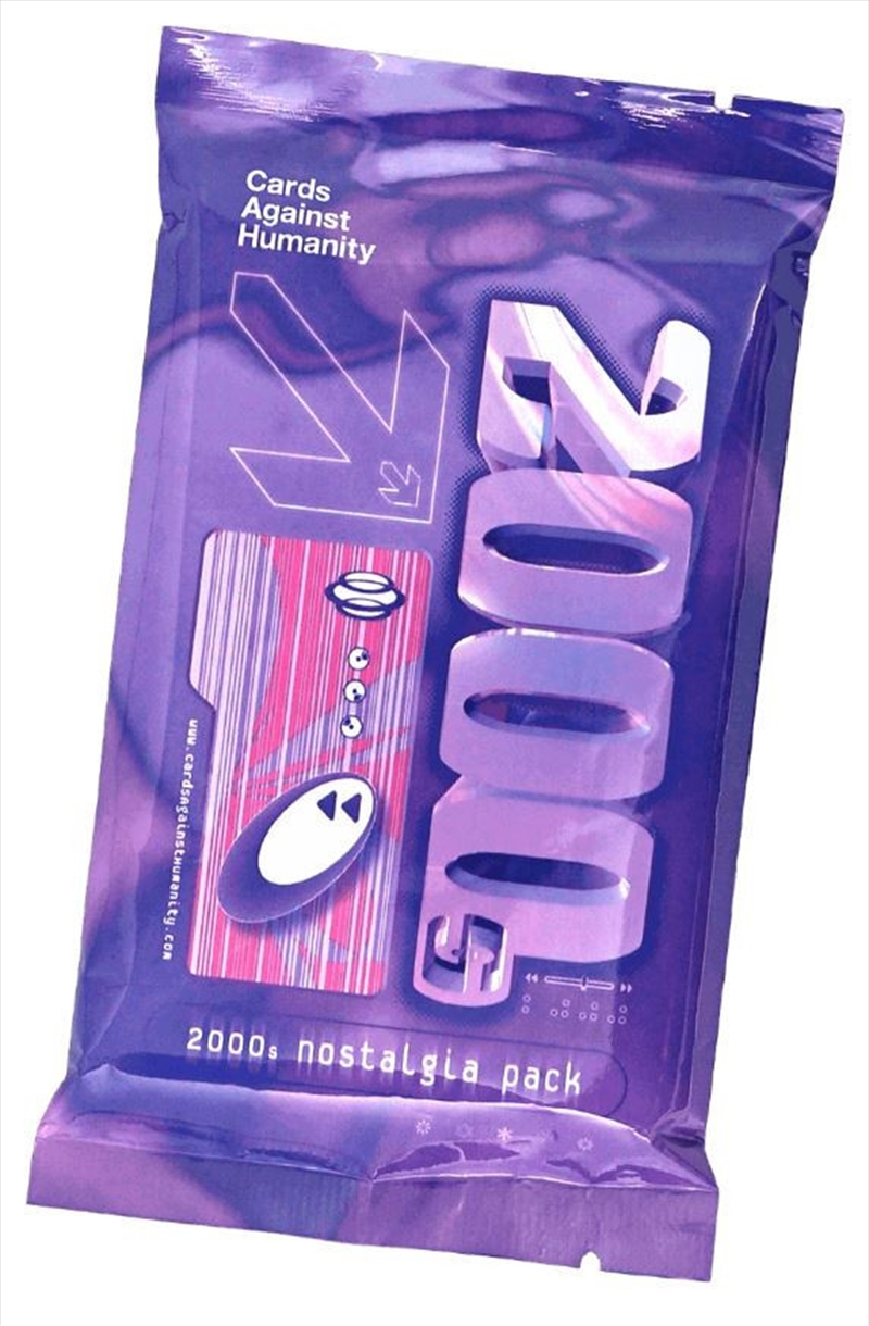 Cards Against Humanity 2000's Nostalgia Pack   Merchandise