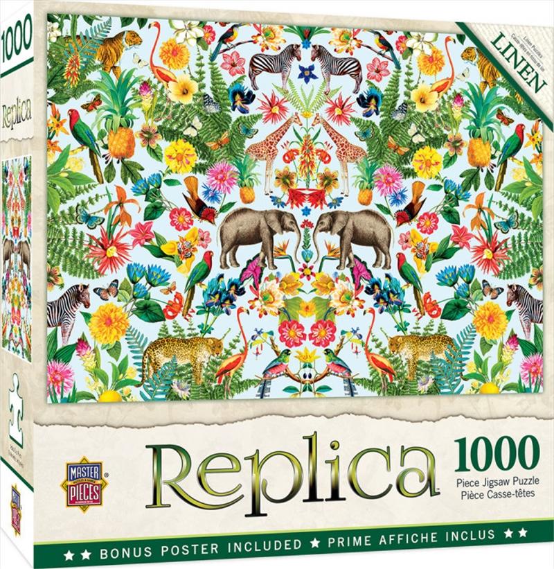 Replica Safari 1000 Piece Puzzle   Merchandise