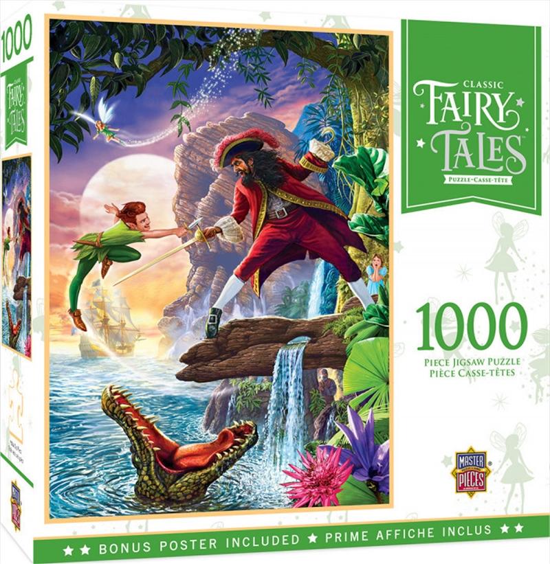 Classic Fairy Tales Peter Pan 1000 Piece Puzzle   Merchandise