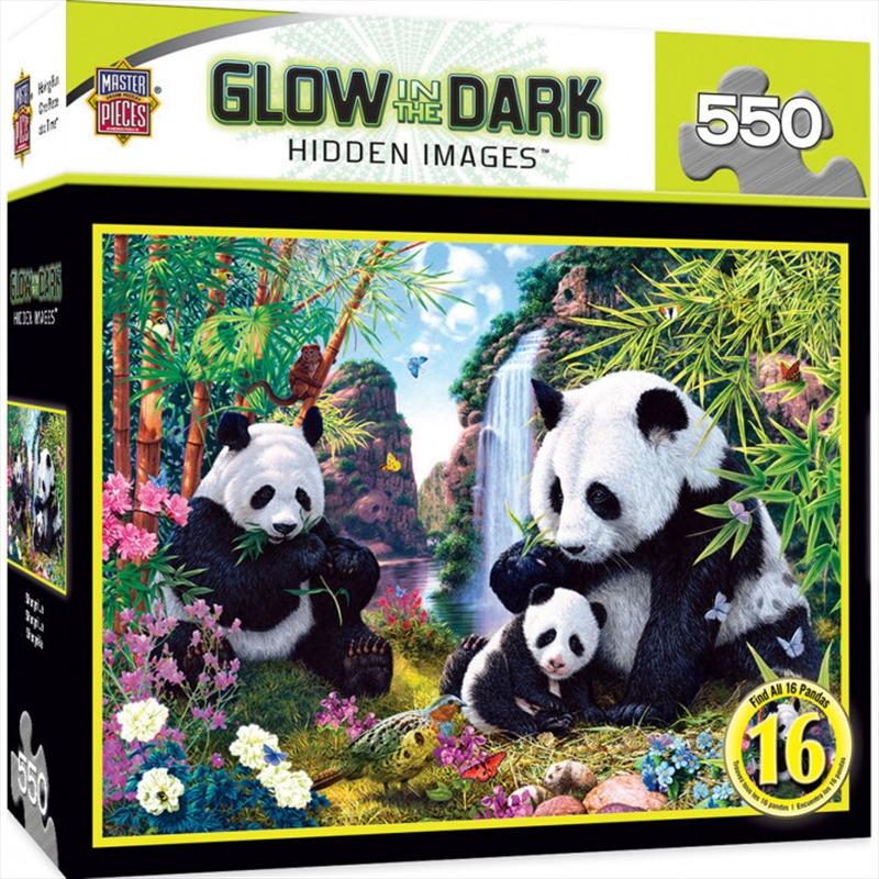 Hidden Image Glow Shangri La 550 Piece Puzzle   Merchandise