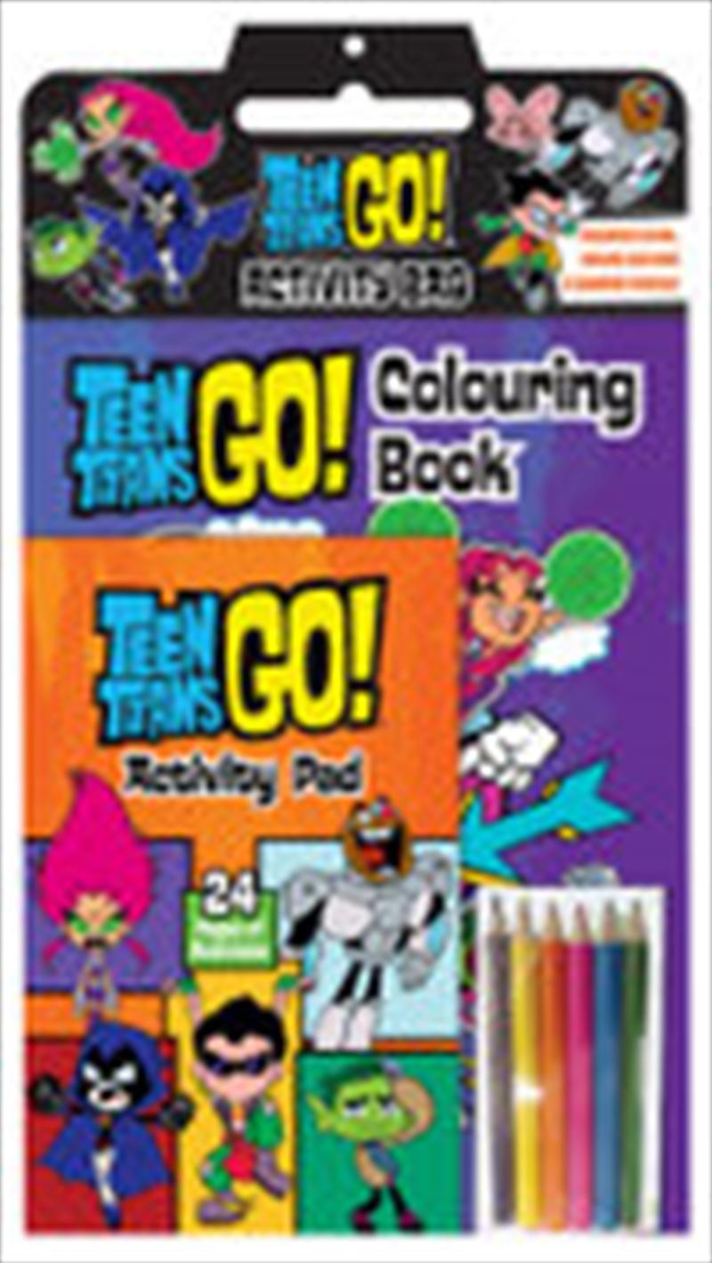 Teen Titans Go!: Activity Bag (DC Comics)   Colouring Book