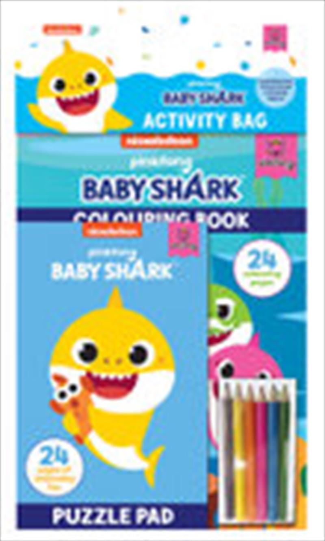 Baby Shark: Activity Bag | Colouring Book