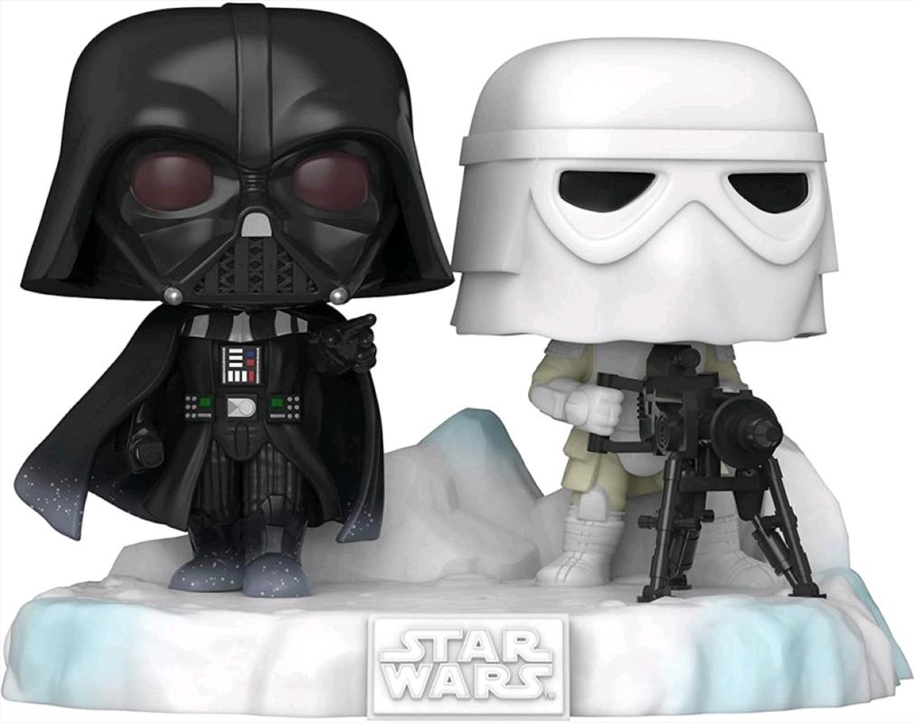 Star Wars - Darth Vader & Stormtrooper US Exclusive Pop! Deluxe Diorama [RS] | Pop Vinyl