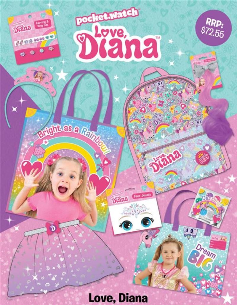 Love Diana Showbag   Merchandise