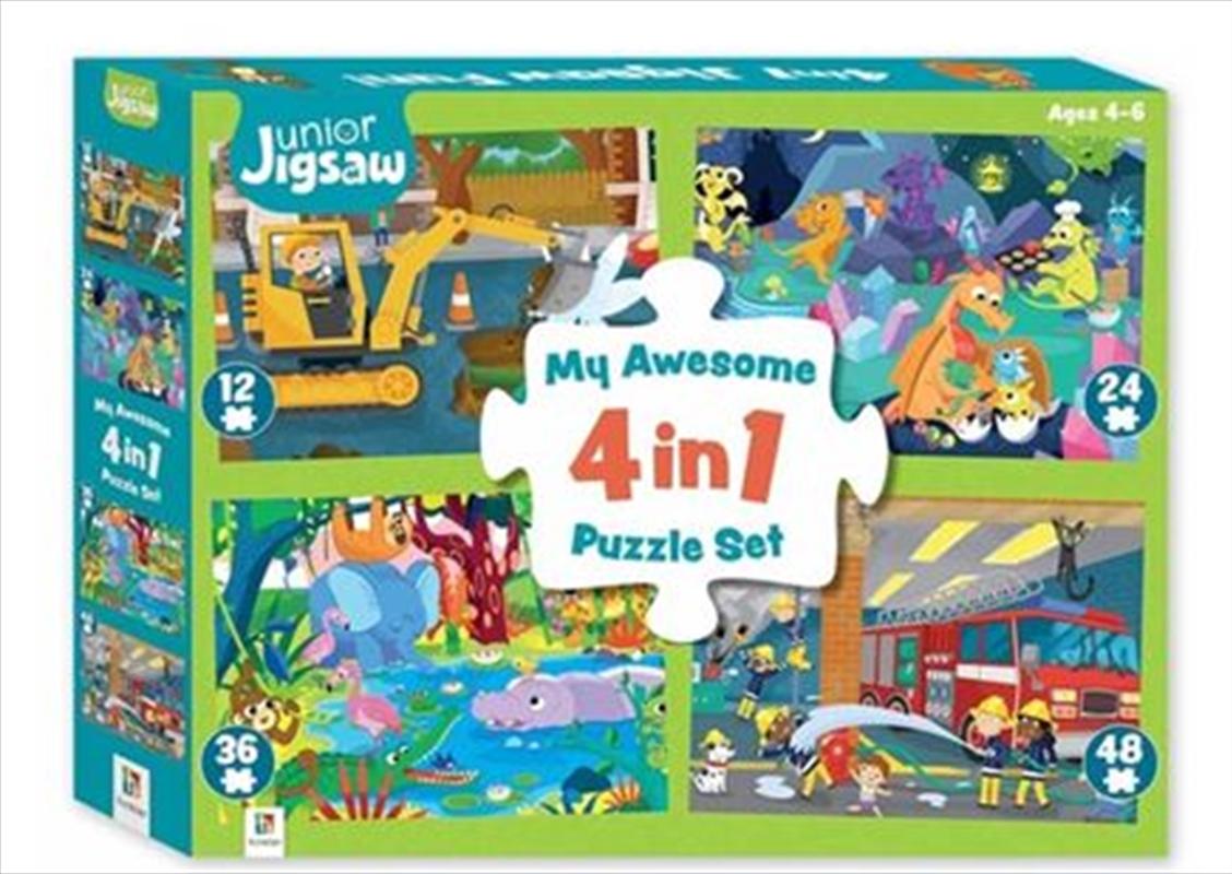 My Awesome 4 In 1 Jigsaw Fun | Merchandise