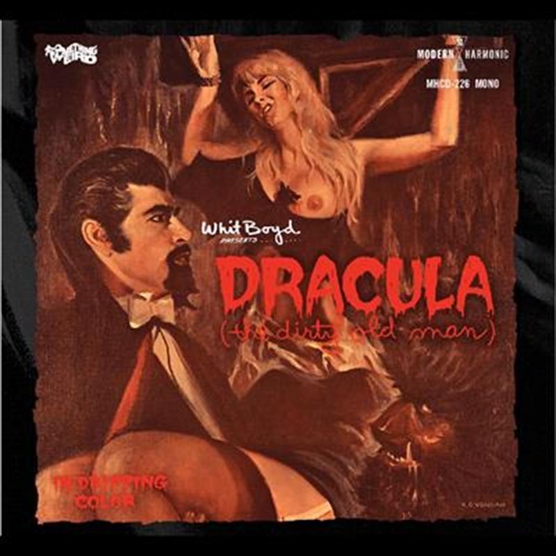 Dracula The Dirty Old Man   CD