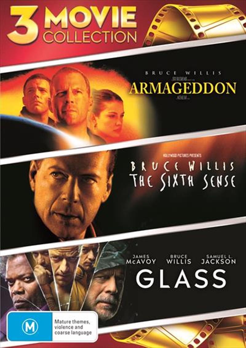 Armageddon / The Sixth Sense / Glass | DVD