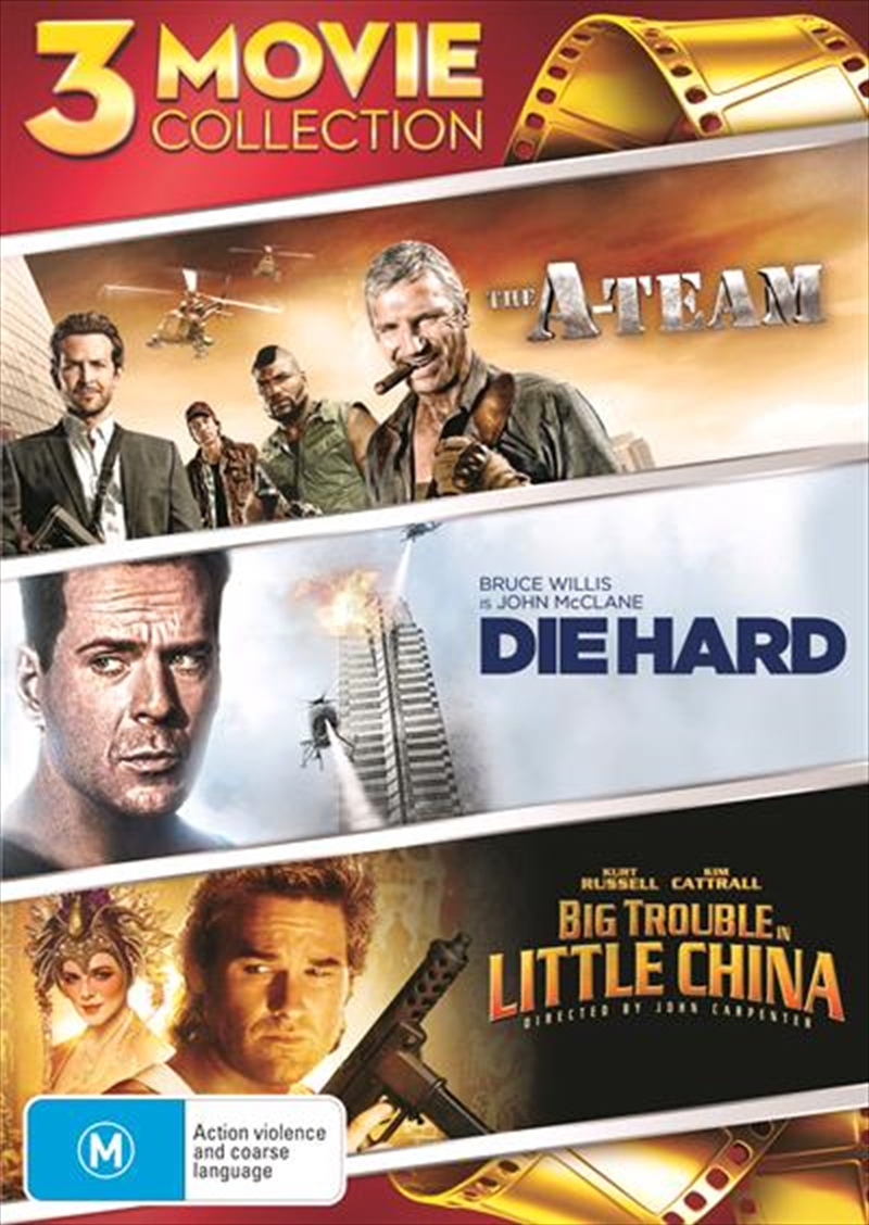 A-Team / Die Hard / Big Trouble In Little China, The   DVD