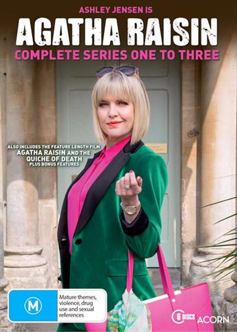 Agatha Raisin - Season 1-3 | Boxset | DVD