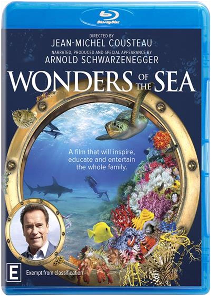 Wonders Of The Sea   Blu-ray
