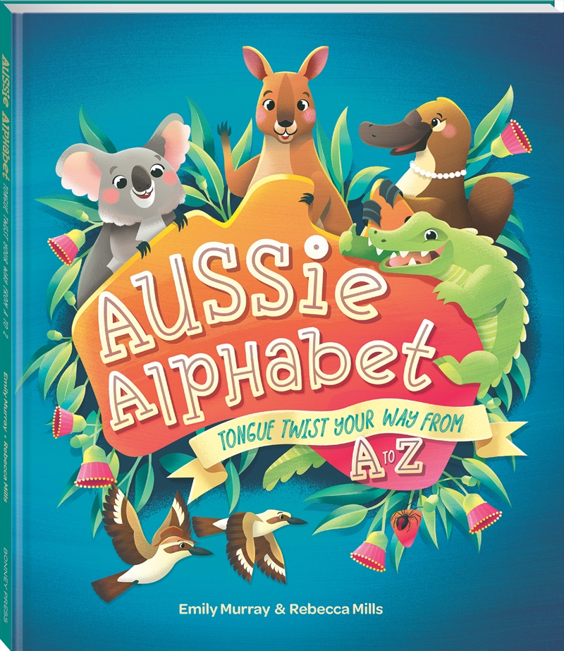 Aussie Alphabet Tongue Twist | Hardback Book