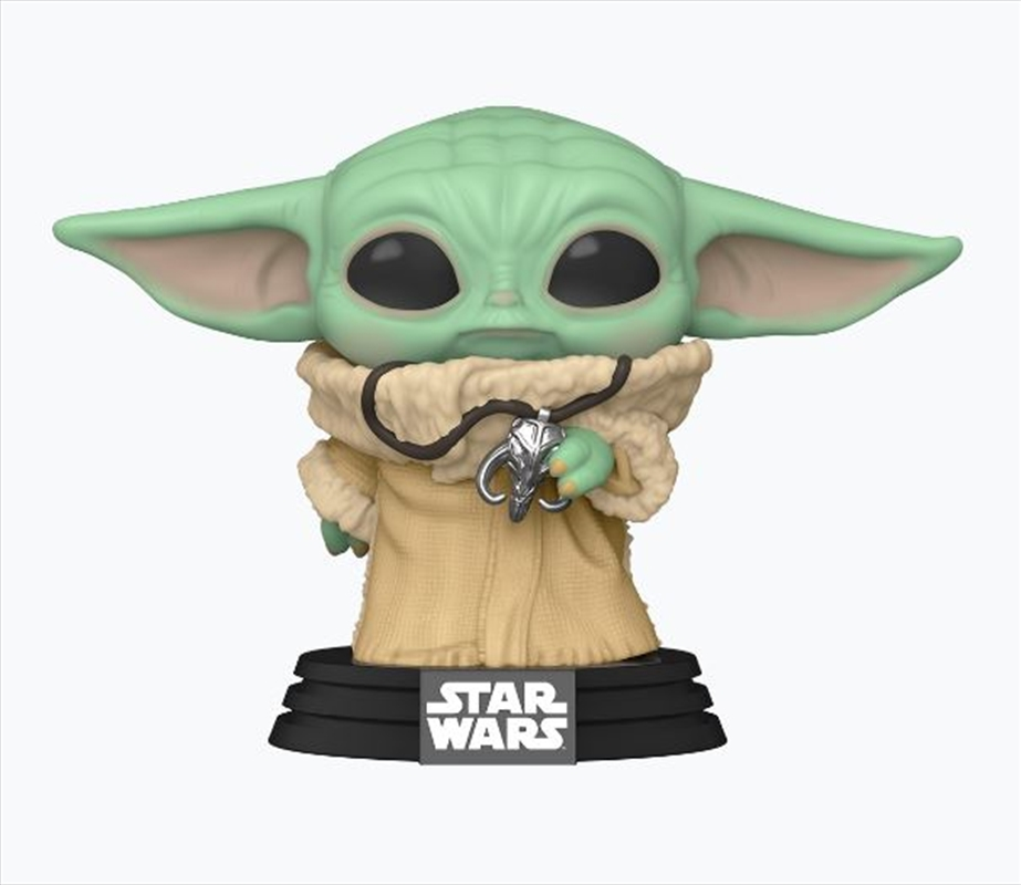 Star Wars: The Mandalorian - The Child With Necklace Pop! Vinyl NY20 RS | Pop Vinyl