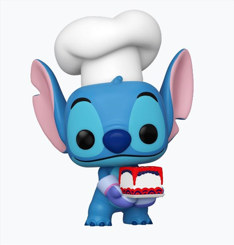 Lilo & Stitch - Stitch as Baker NYCC 2020 US Exclusive Pop! Vinyl [RS] | Pop Vinyl
