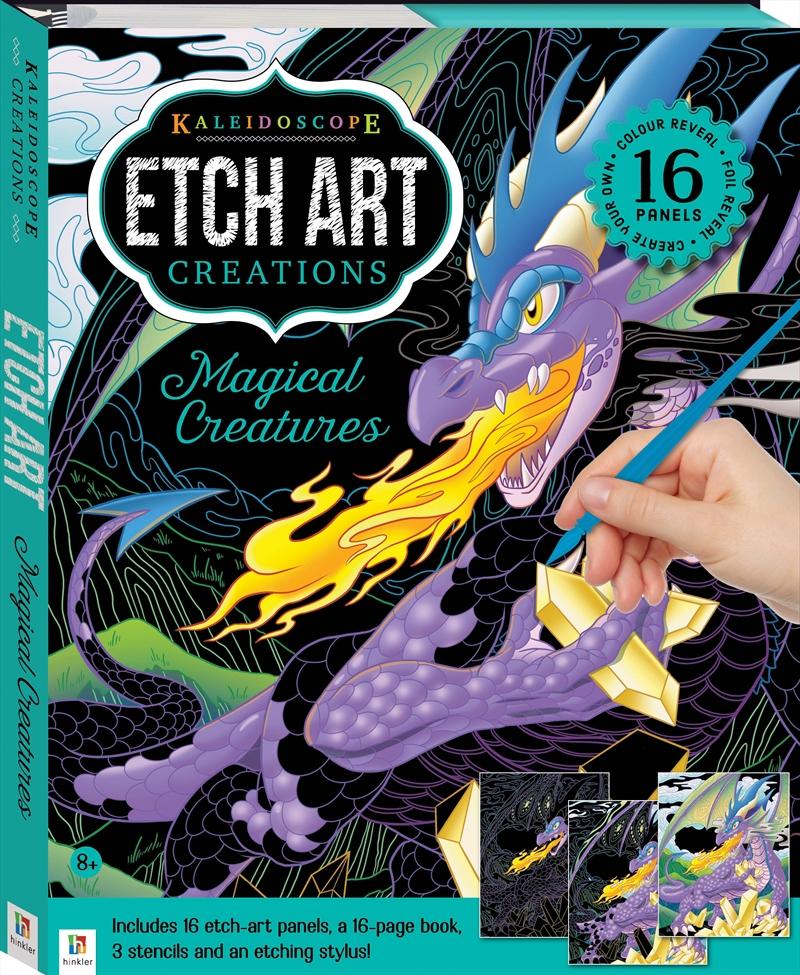 Kaleidoscope Etch Art Creations: Magical Creatures   Merchandise